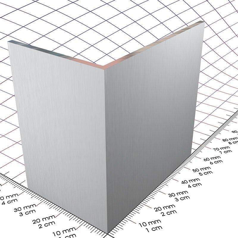 60 x 40 x 2 mm blank alu l profil 3d alu online shop. Black Bedroom Furniture Sets. Home Design Ideas