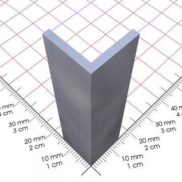 Aluminium l profil 15×15