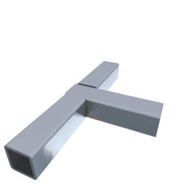 SK15Tz, Stahlkern verzinkt, T-Stück