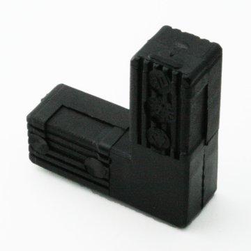 SV30WoK, Steckverbinder Winkel ohne Kopf für Rohr 30x30x2mm