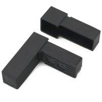 SV25W, Steckverbinder: Winkel für Rohr 25x25x1,5mm