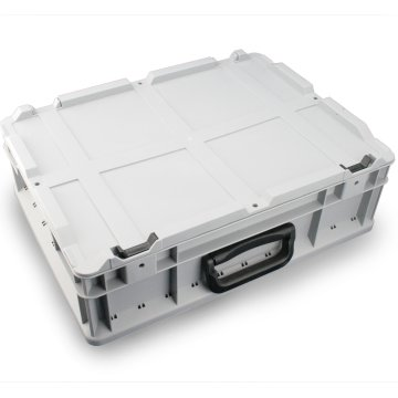 Eurobox, 40 x 30 cm, mit Griff und Klappdeckel