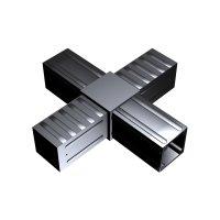 SVe30K, Steckverbinder Kreuz für Rohr 30x30x2mm
