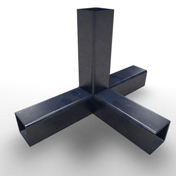 SK15TA, Stahlkern, T-Stück mit Abgang