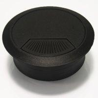 Kabeldurchführung Ø 60 mm, schwarz
