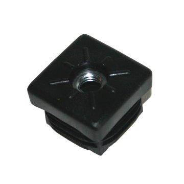 M10, Rohrbuchse mit Gewinde für Quadratrohr